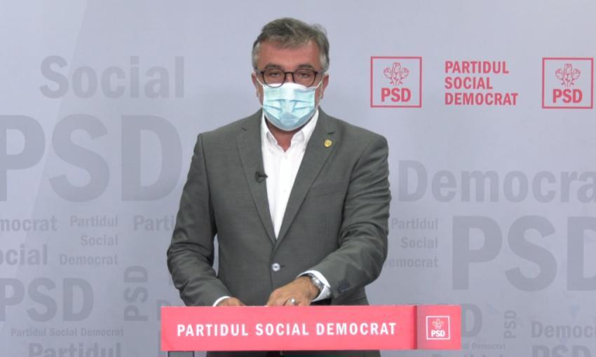 Purtătorul de cuvânt al PSD, declarații de presă