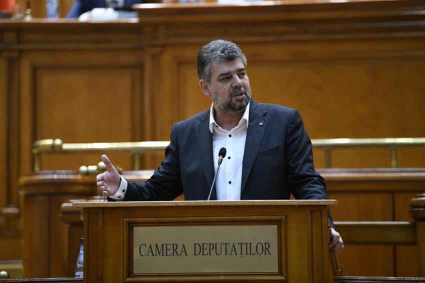 """Ciolacu: """"Avem nevoie acum de o alternativă viabilă şi sănătoasă la coşmarul economic pe care îl trăieşte România"""""""