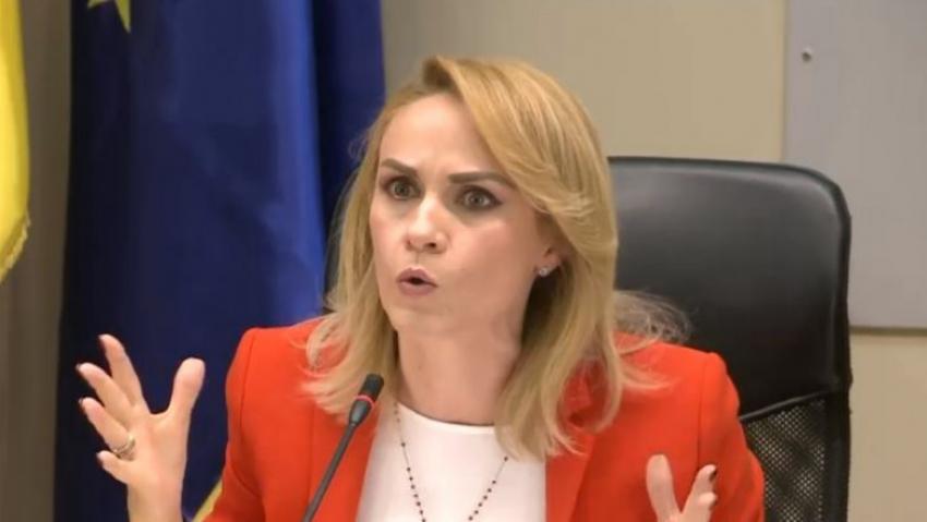 """Fostul primar al Capitalei Gabriela Firea:""""De când este Friguşor Ban judecător, anchetator?"""""""