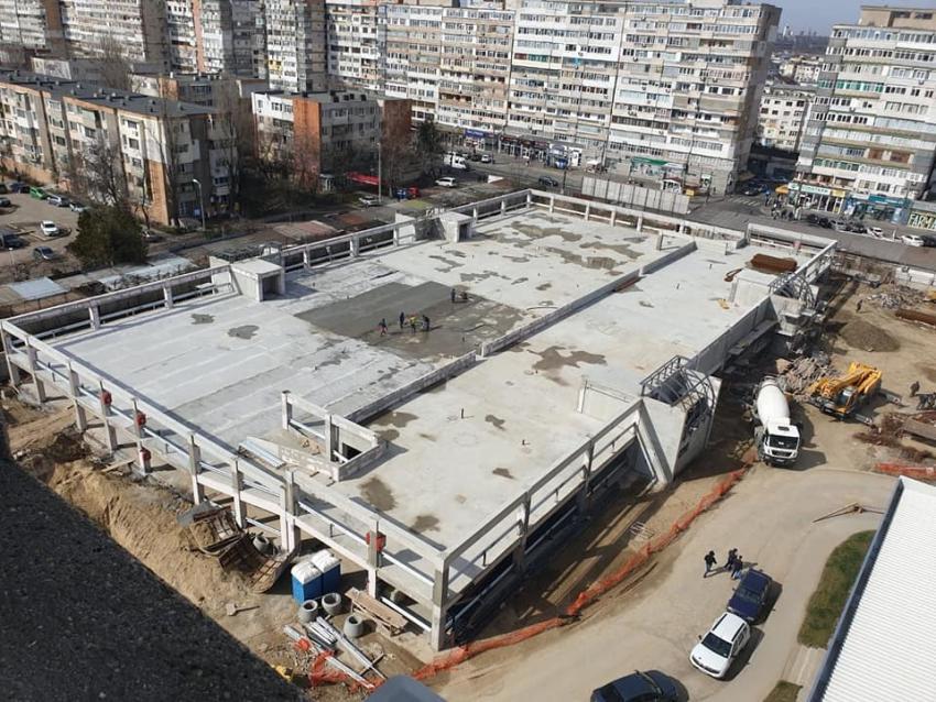 """Când va fi inaugurată parcarea cu 400 de locuri și heliport de la Spitalul Județean """"Sf. Apostol Andrei"""" Galați"""