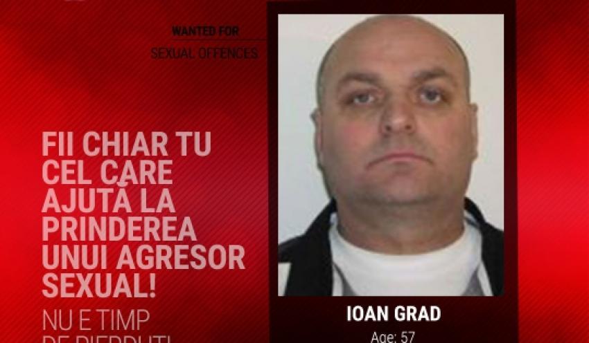 Un român este pus pe lista celor mai periculoși violatori căutați din 19 state europene