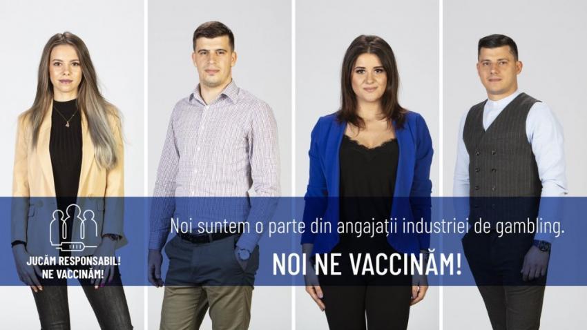Campanie pro-vaccinare a industriei jocurilor de noroc
