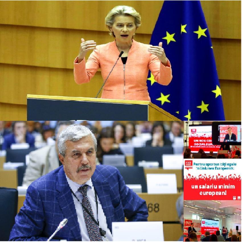 Propunerea social-democraților în PE se concretizează: vom avea un salariu minim la nivel european!