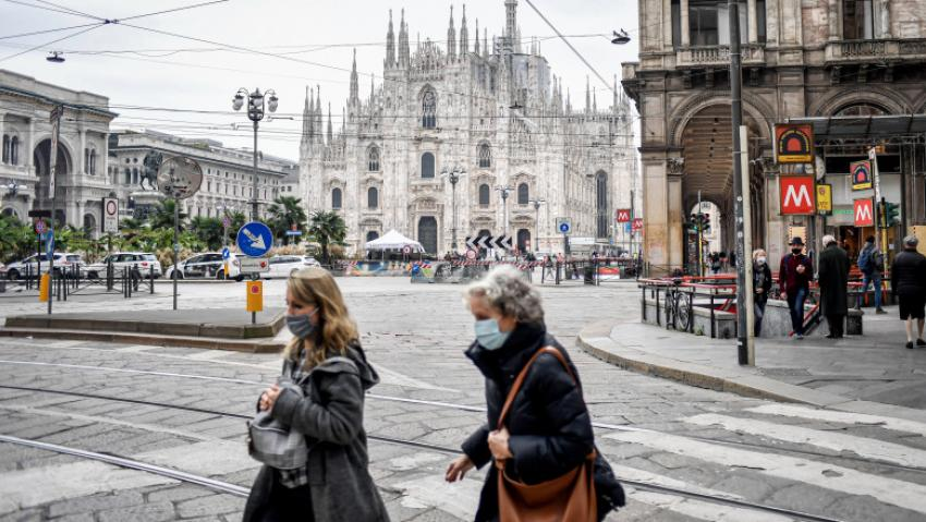 Italia a depășit un nou prag al deceselor provocate de virusul SARS-CoV-2.