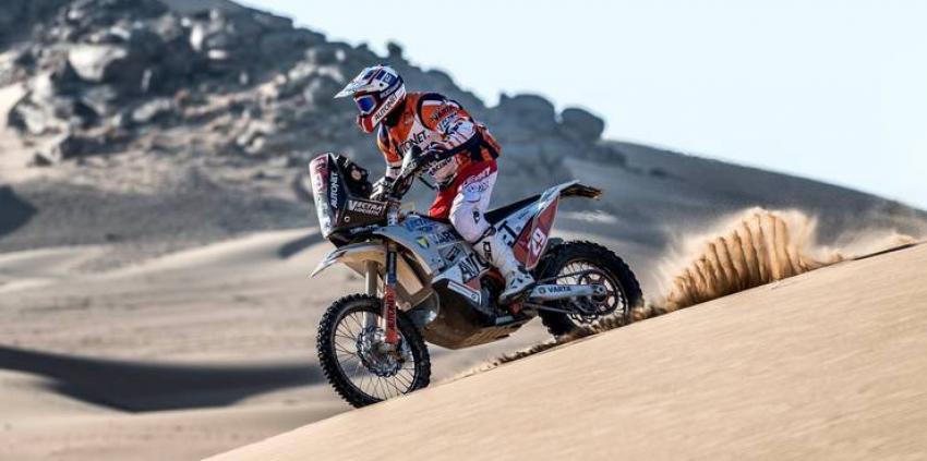 Românul Emanuel Gyenes, pe locul 26 la general în Raliul Dakar