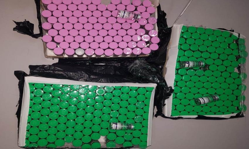 Substanţe anabolizante, în valoare de peste 25.000 de lei, oprite la intrarea în ţară