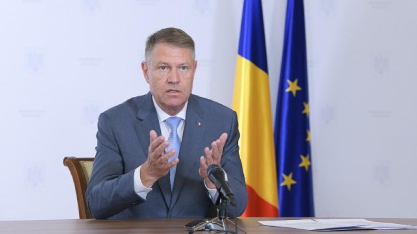 """Preşedintele Klaus Iohannis:""""Trebuie găsită altă lege de funcţionare pentru a avea realmente persoane independente"""""""