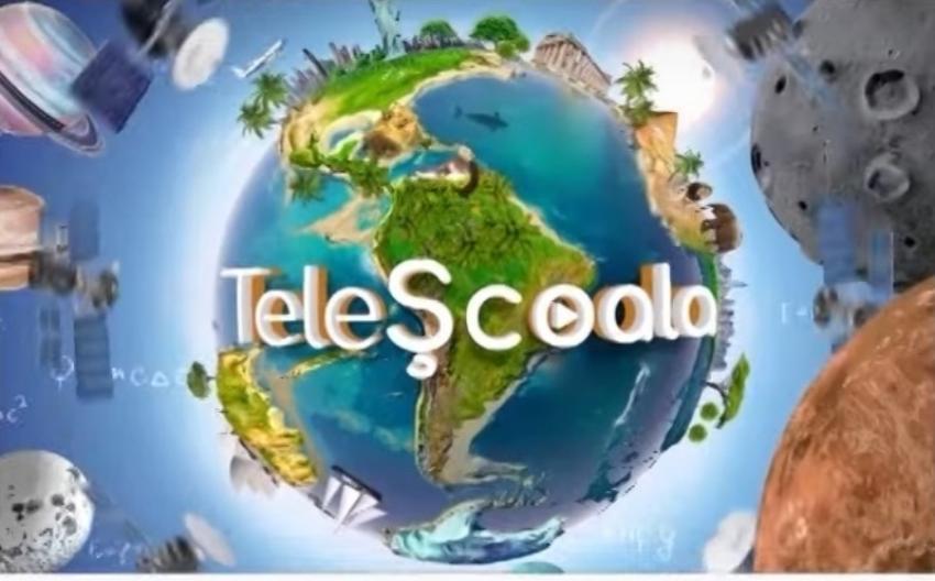 Programul Teleșcoala continuă, de luni, la TVR 2