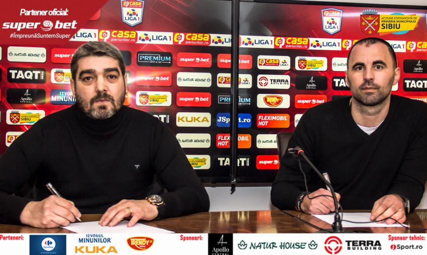 FC Hermannstadt are antrenor nou