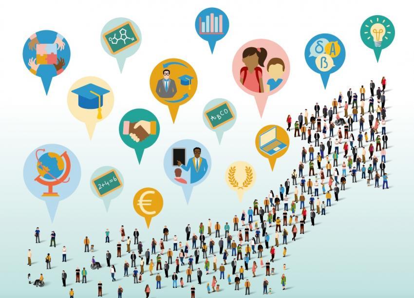 Covid-ul si contextul socio-economic, dar și învățământul online, produc inegalități flagrante în noua generație