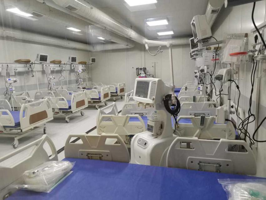 Spitalul mobil din Lețcani (Iași) se închide pentru igienizare