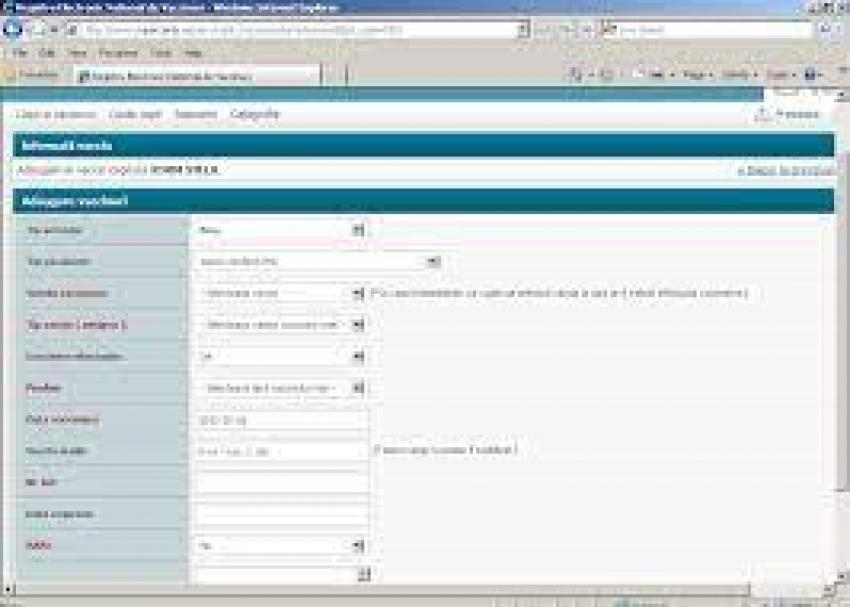 Registrul de Vaccinări înregistrează sincope