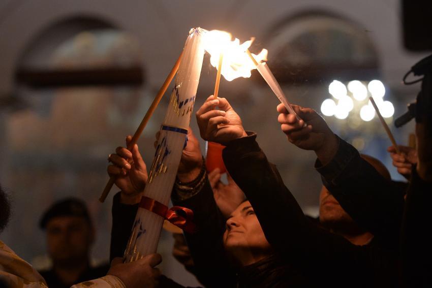 Sfânta Lumină nu ţine cont de pandemie