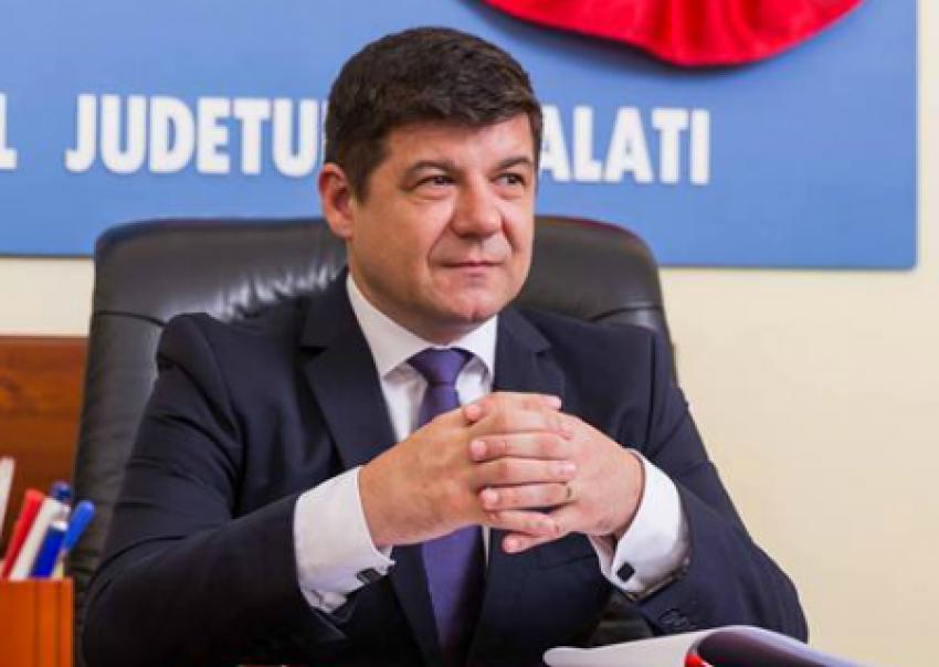Președintele Consiliului Județean Galați, Costel Fotea