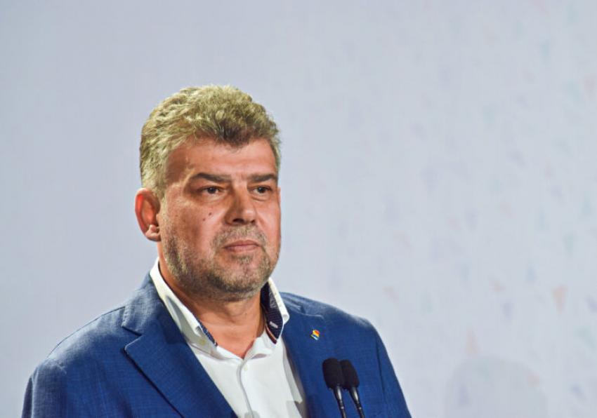 Marcel Ciolacu s-a dezlănțuit după ultimul bilanț al Grupului de Comunicare Strategică