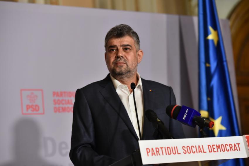 Ciolacu: Dacă vrea USR suspendarea lui Iohannis şi alegeri anticipate, eu personal mă duc la sediul lor să semnăm un protocol