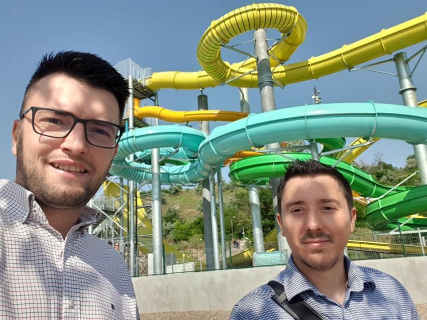 Daniel Zinică (USR-PLUS) despre plusurile și minusurile aqua park-ului de la Plaja Dunărea
