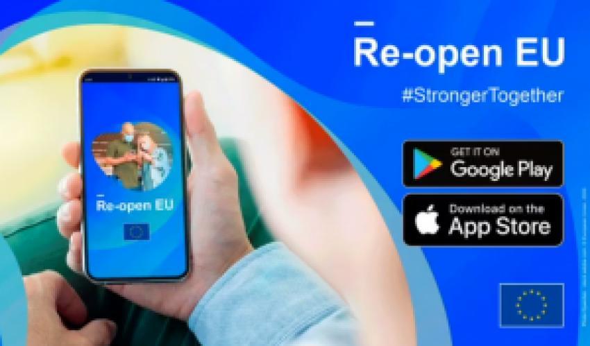 CE lansează aplicația mobilă Re-open EU