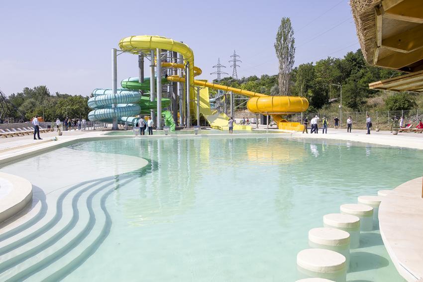Plaja Dunărea, o investiție de circa 6 milioane de euro, se deschide pentru public la Galați
