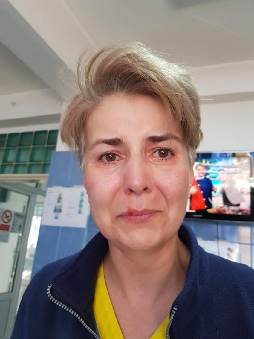 Incident grav în plină pandemie într-un spital. O asistentă a fost bătută cu pumnii și picioarele