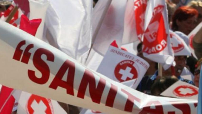 Proteste anti-guvernamentale în toată țara organizate de Federația Sanitas