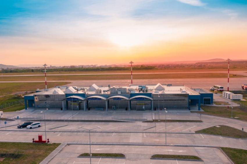 Aeroportul Oradea, modernizat cu bani europeni