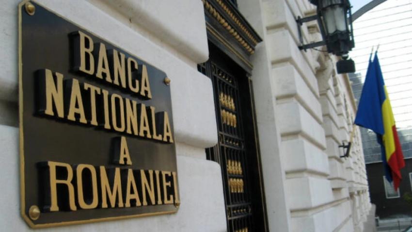 Rezervele valutare BNR, mai mari cu 2,6 miliarde euro