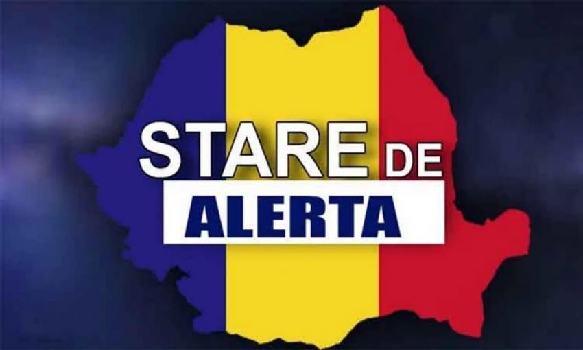 Guvernul a prelungit starea de alertă în România cu 30 de zile